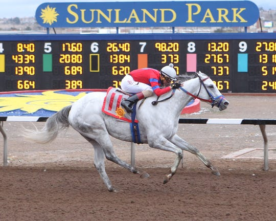 Woman At the Well won Sunday's Bold Ego Handicap at Sunland Park Racetrack & Casino.