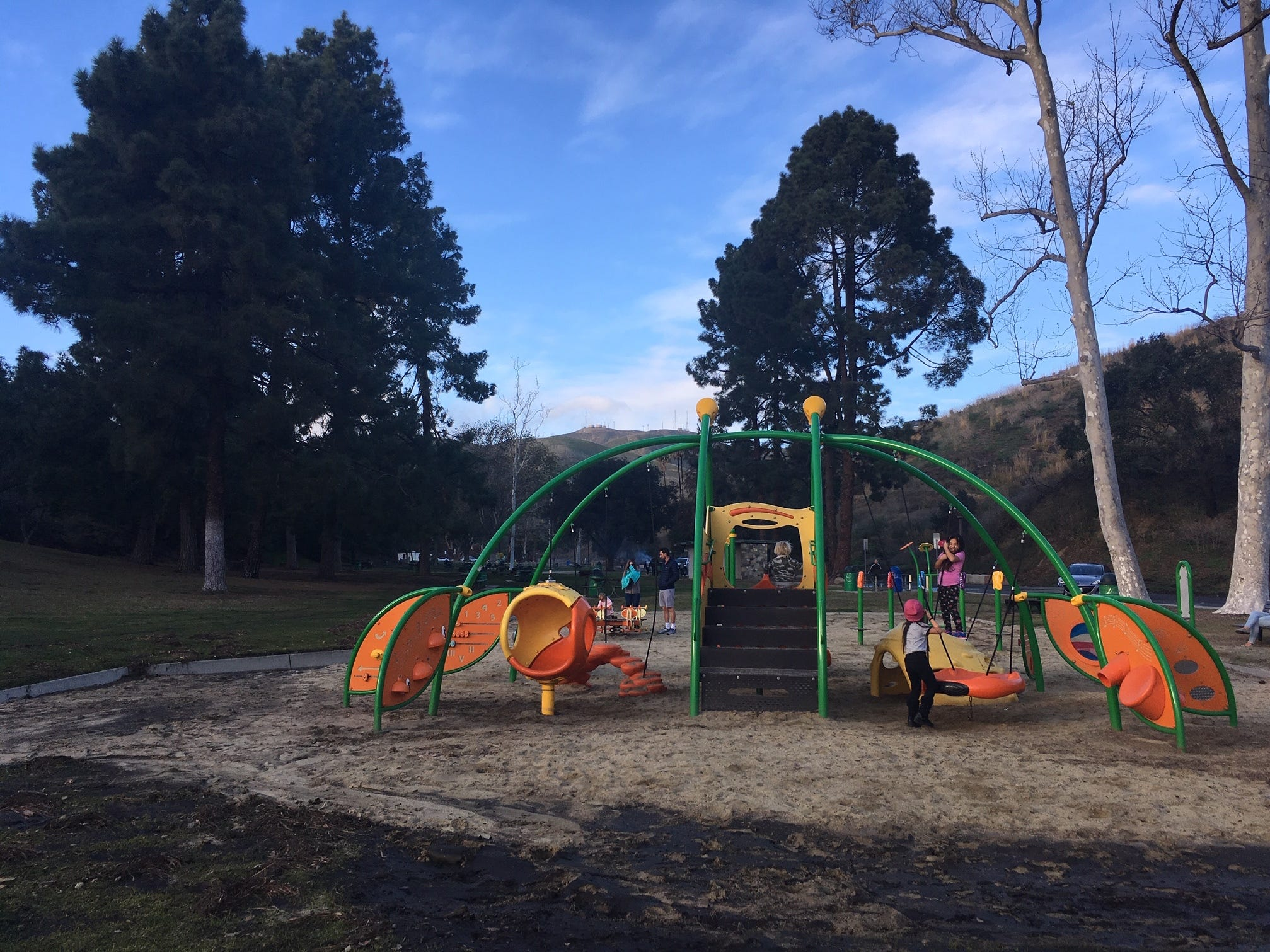 Another playground at Arroyo Verde Park in Ventura.