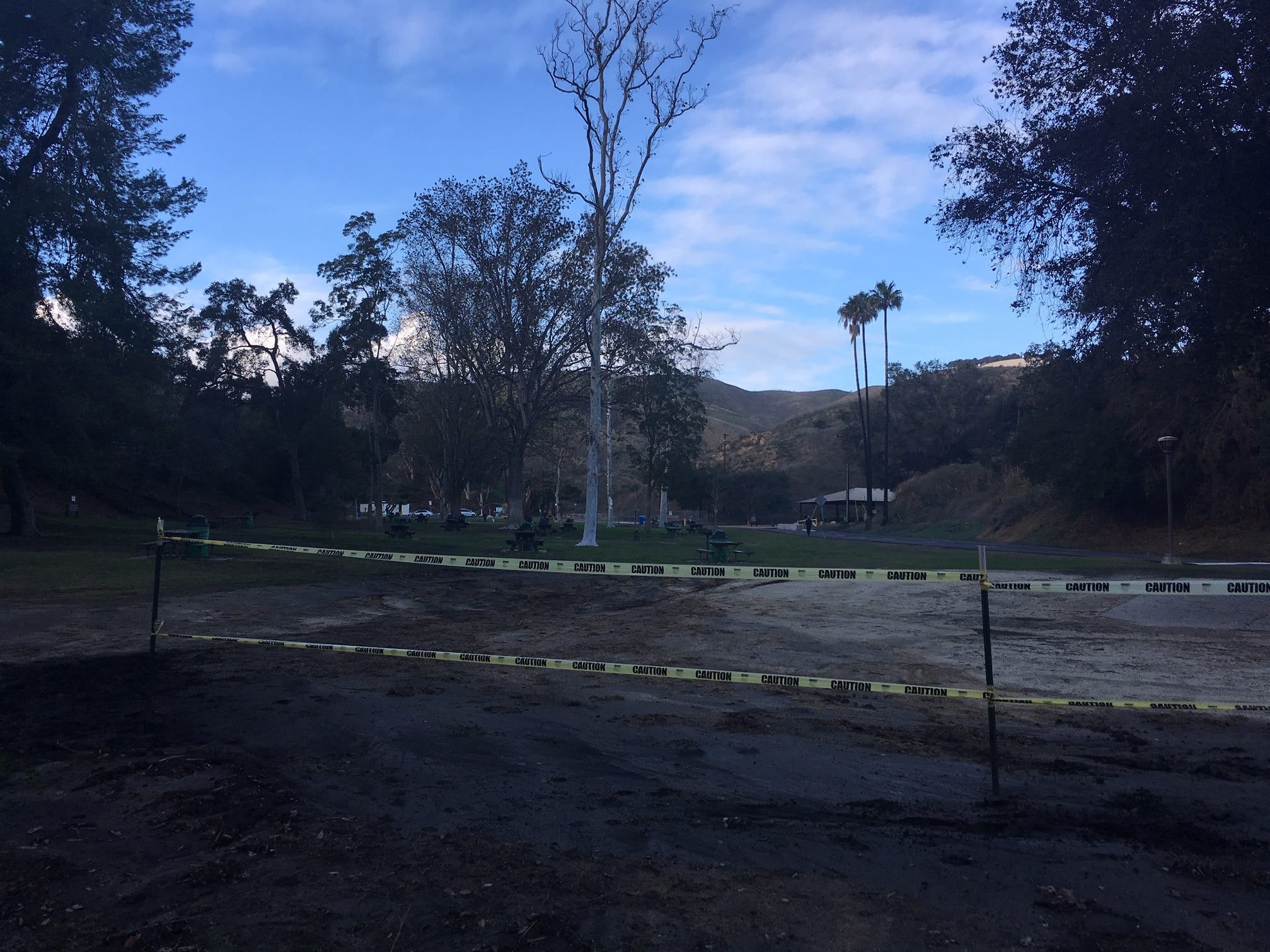 This part of Arroyo Verde Park in Ventura used to have a playground. The city wants community input to help design what will be built in its place.