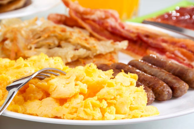 Vineland Fire Department Company No. 5 will host an all-you-can-eat breakfast from 7 a.m. to 12:30 p.m. Jan. 13 at Rosary Hall at Dante and Cornucopia avenues.