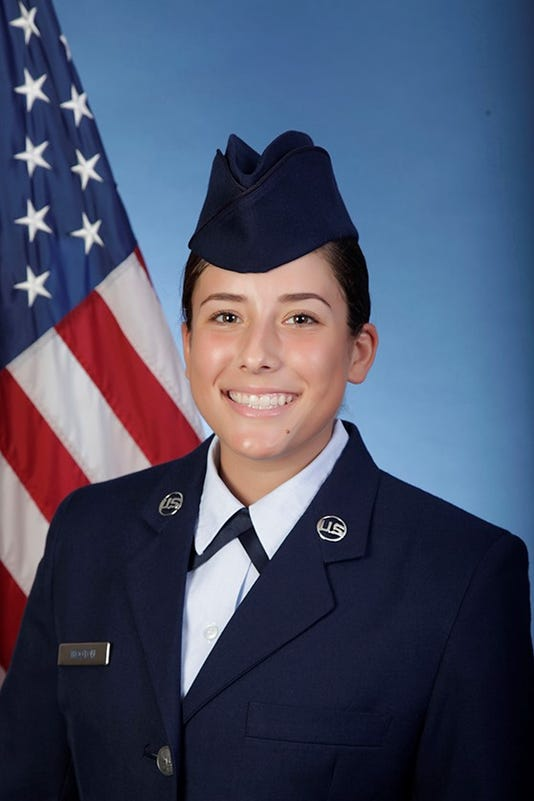 U S Air Force Airman Elyse Wooton