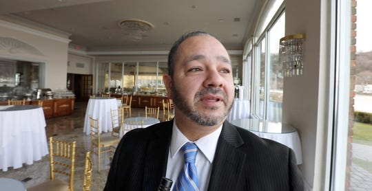 Vincent Incorvaia at The View on the Hudson in Piermont Jan. 7, 2019. The catering hall will be offering a brunch viewing party for the Tappan Zee Bridge demolition on Saturday morning.