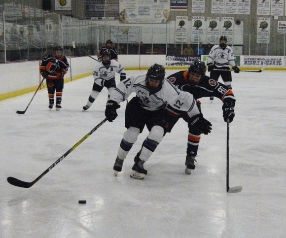John Jay scored five unanswered goals to upend previously unbeaten Horace Greeley 5-2 on Sunday, Jan. 6, 2018 at Brewster Ice Arena.