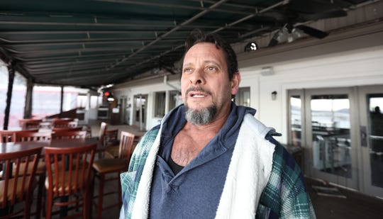 Chef/owner Denis Whitton at Pier 701 in Piermont Jan. 7, 2019. The restaurant had planned a viewing party for the Tappan Zee Bridge demolition on Saturday morning.