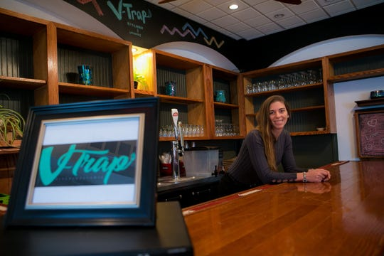 Kristin and Milton Bowen, owners of Nude Food Truck, are opening a new vegan restaurant on N. Lincoln Street in Wilmington called V-Trap Kitchen & Lounge which plans to open in the spring.