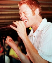 "Jeff ""Jefe"" Ebbert leads Burnt Sienna at The Rusty Rudder in 1999. The act's original line-up will reunite for the first time at the Rudder's 40th anniversary party this summer."