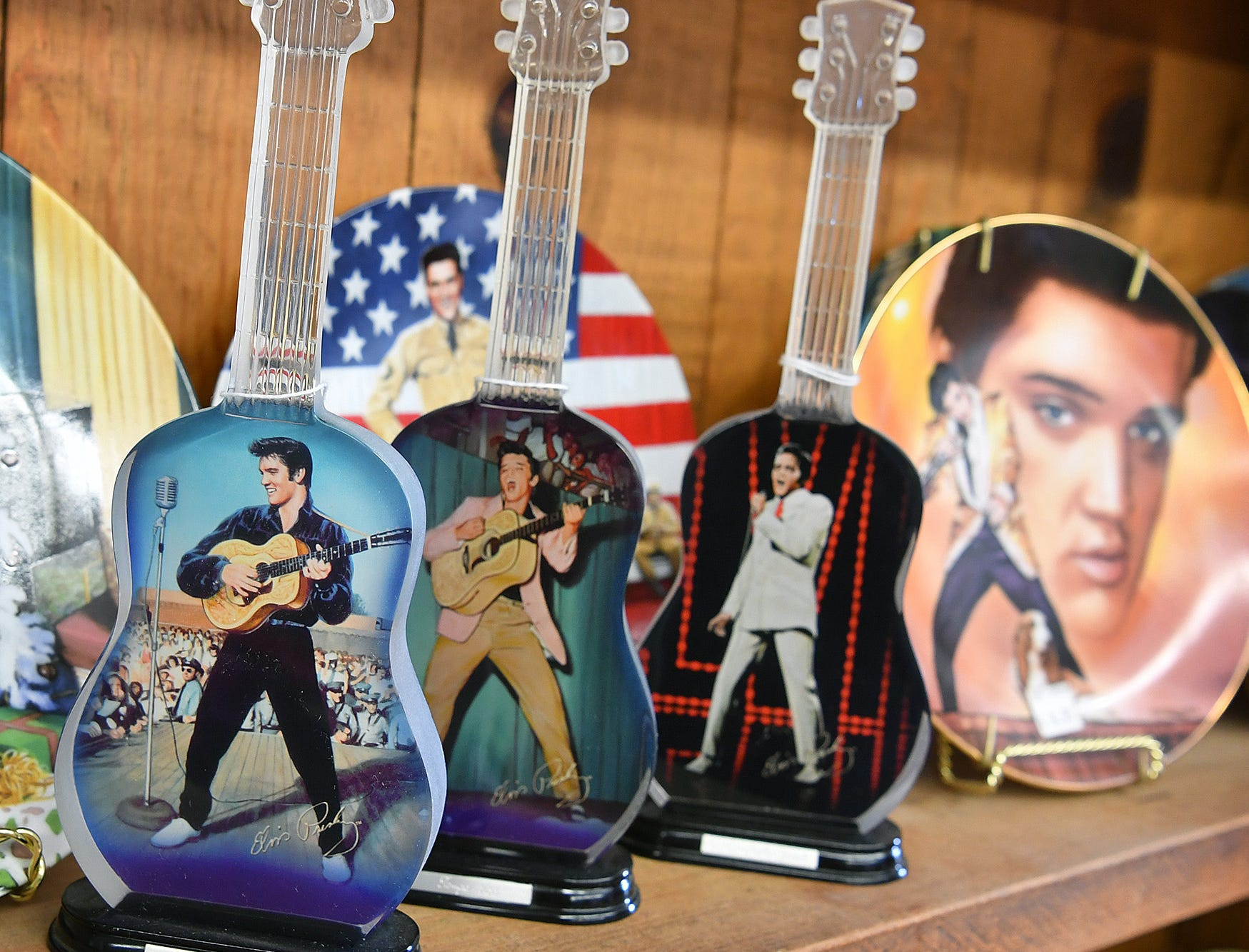 A huge variety of items are available at the Elvis Always Gifts and Collectibles store.