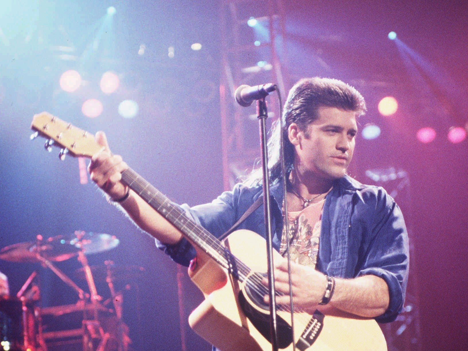 "Billy Ray Cyrus is best known today as Miley Cyrus' father, but in the 1990s, he was famous as the country singer behind the hit ""Achy Breaky Heart."""