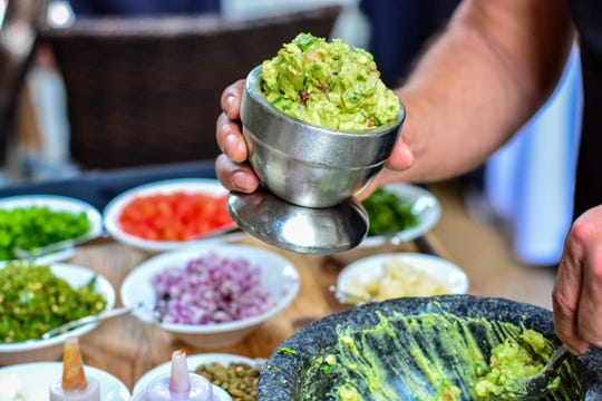 House-made guacamole makes every outing more delicious.