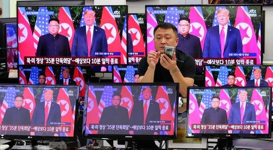 In Seoul, South Korea, on June 12, 2018.
