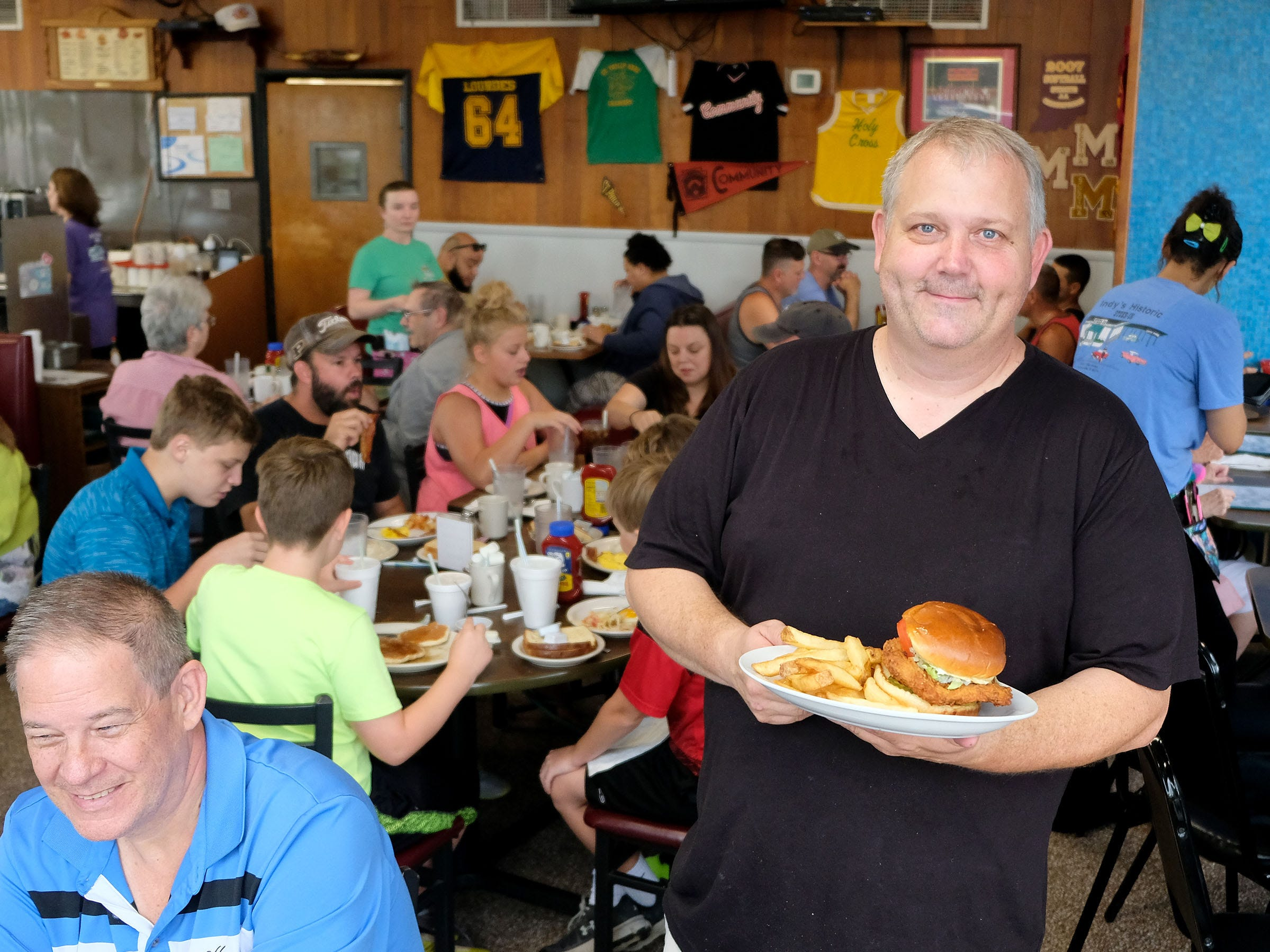 "Casey Kehrer, along with his parents, bought the Steer-In restaurant in 2007, keeping alive what is now a 58-year tradition of great diner grub. The family introduced the tenderloin sandwich to the diner. ""We'll sell between 1,800 and 2,100 tenderloins a month,"" Kehrer said."
