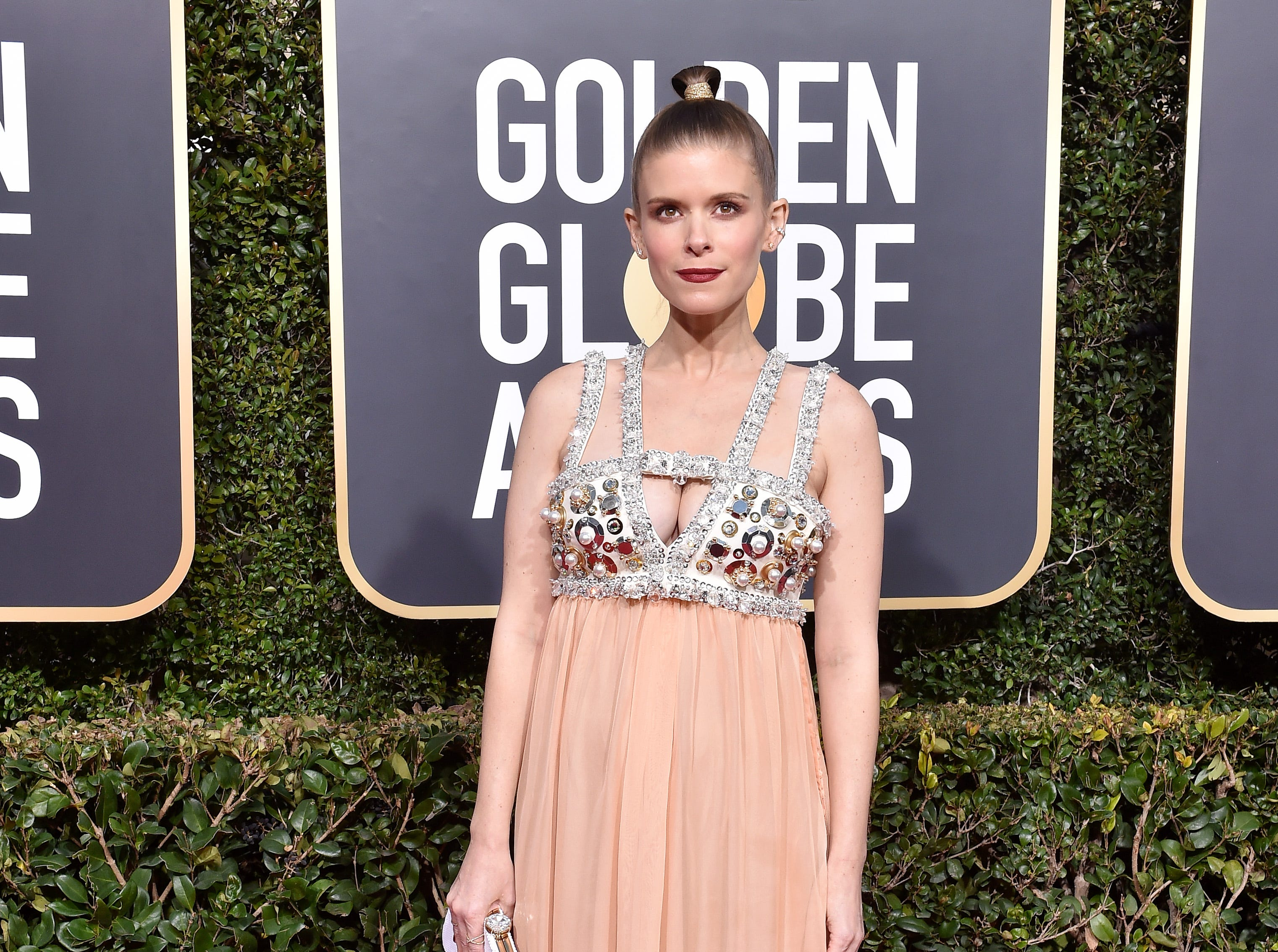 BEVERLY HILLS, CA - JANUARY 06:  Kate Mara attends the 76th Annual Golden Globe Awards at The Beverly Hilton Hotel on January 6, 2019 in Beverly Hills, California.  (Photo by Axelle/Bauer-Griffin/FilmMagic) ORG XMIT: 775268382 ORIG FILE ID: 1078650654