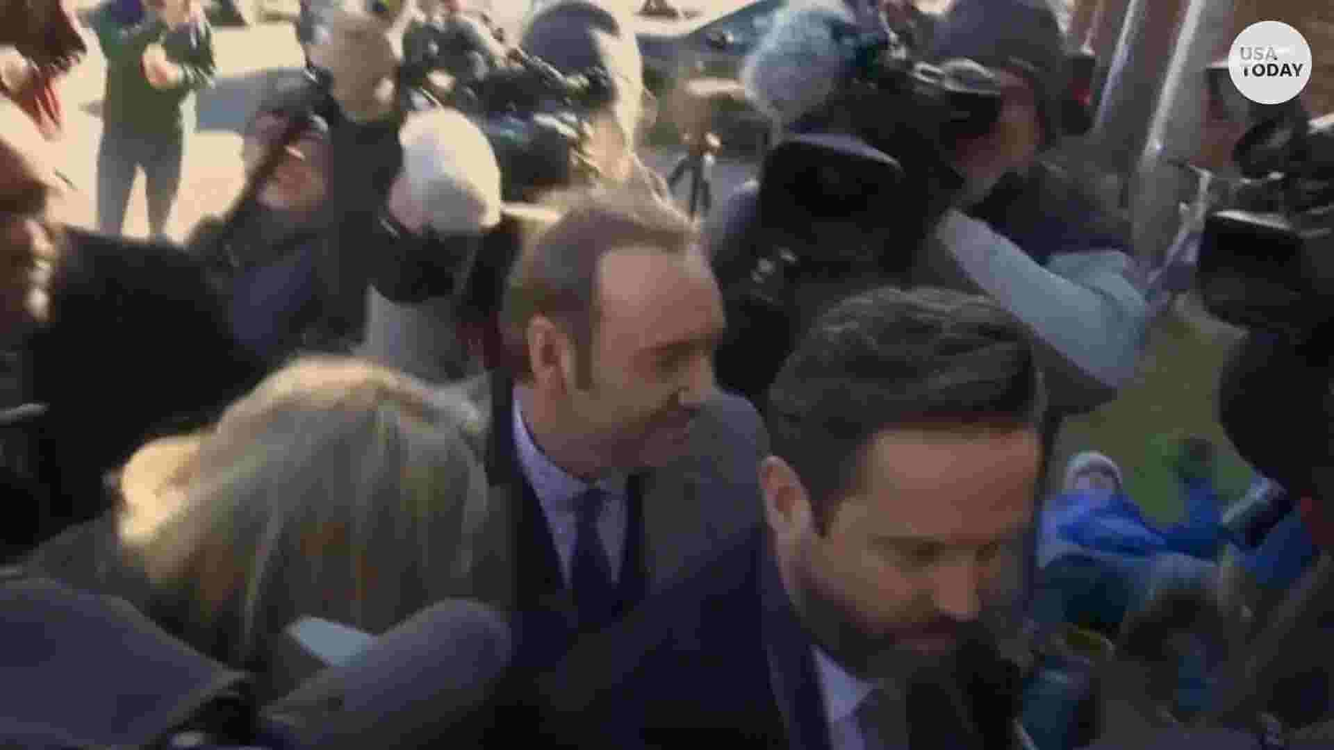 Kevin Spacey makes first court appearance for sex-crime charge