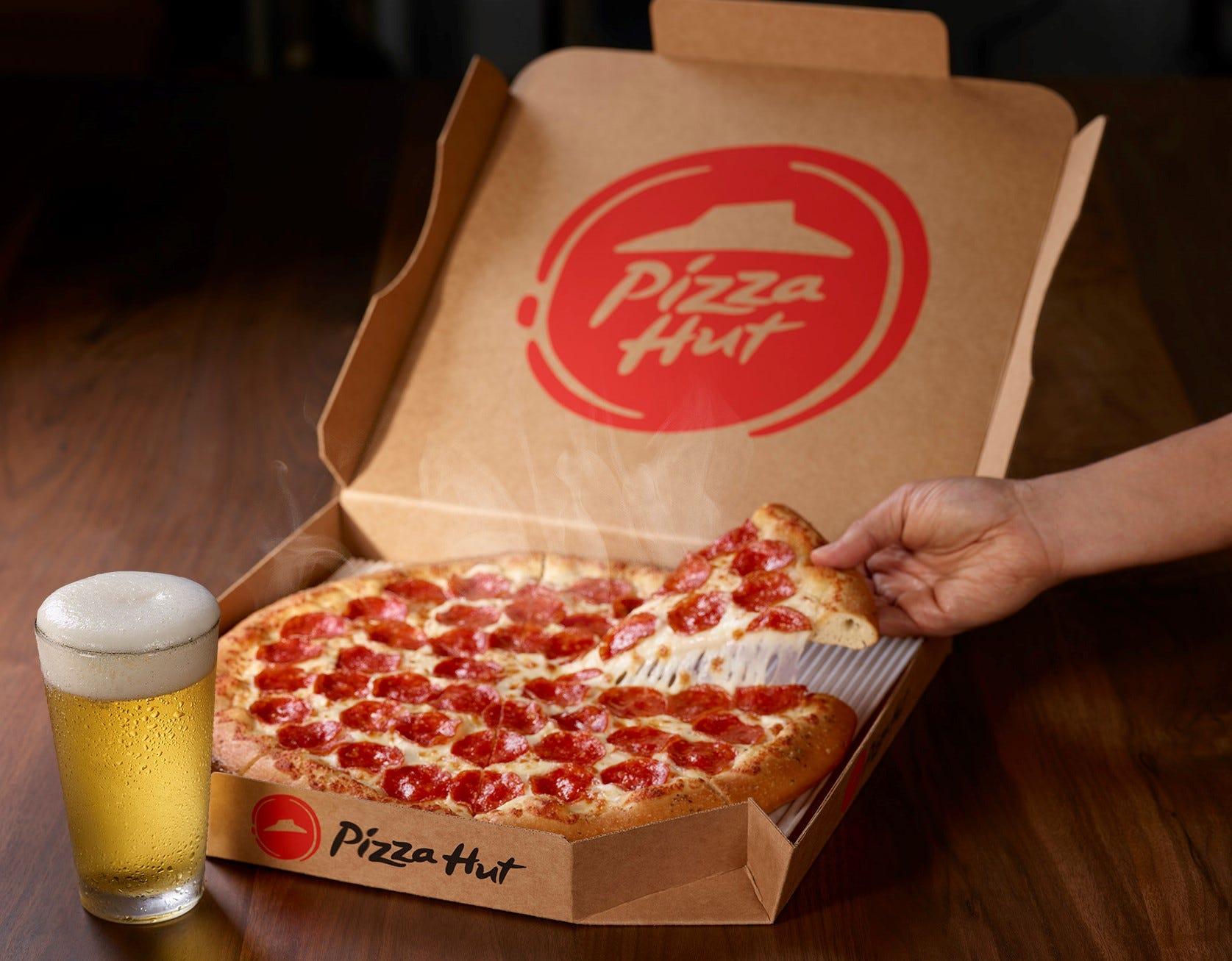 Super Bowl and pizza: Say hello to Pizza Hut Hut