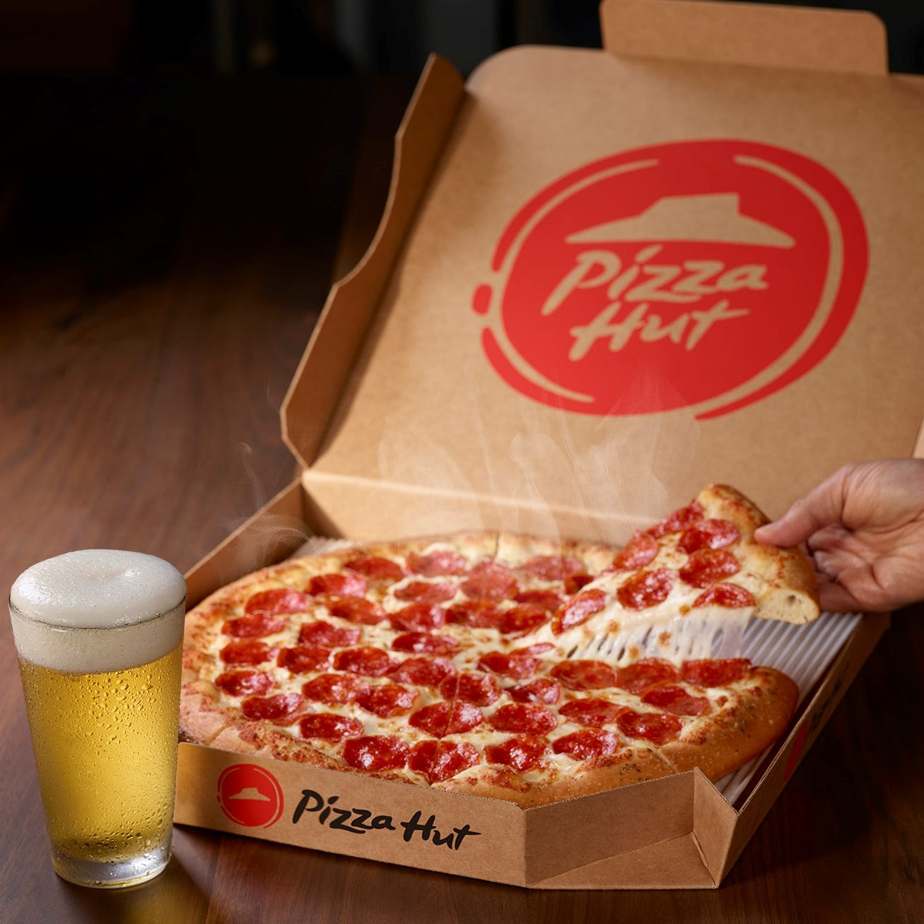 Super Bowl and pizza: Say hello to Pizza Hut Hut
