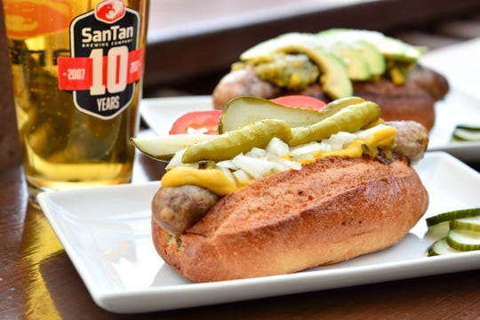 For a quick and casual bite to eat, stop by the Brat House in Scottsdale for happy hour.