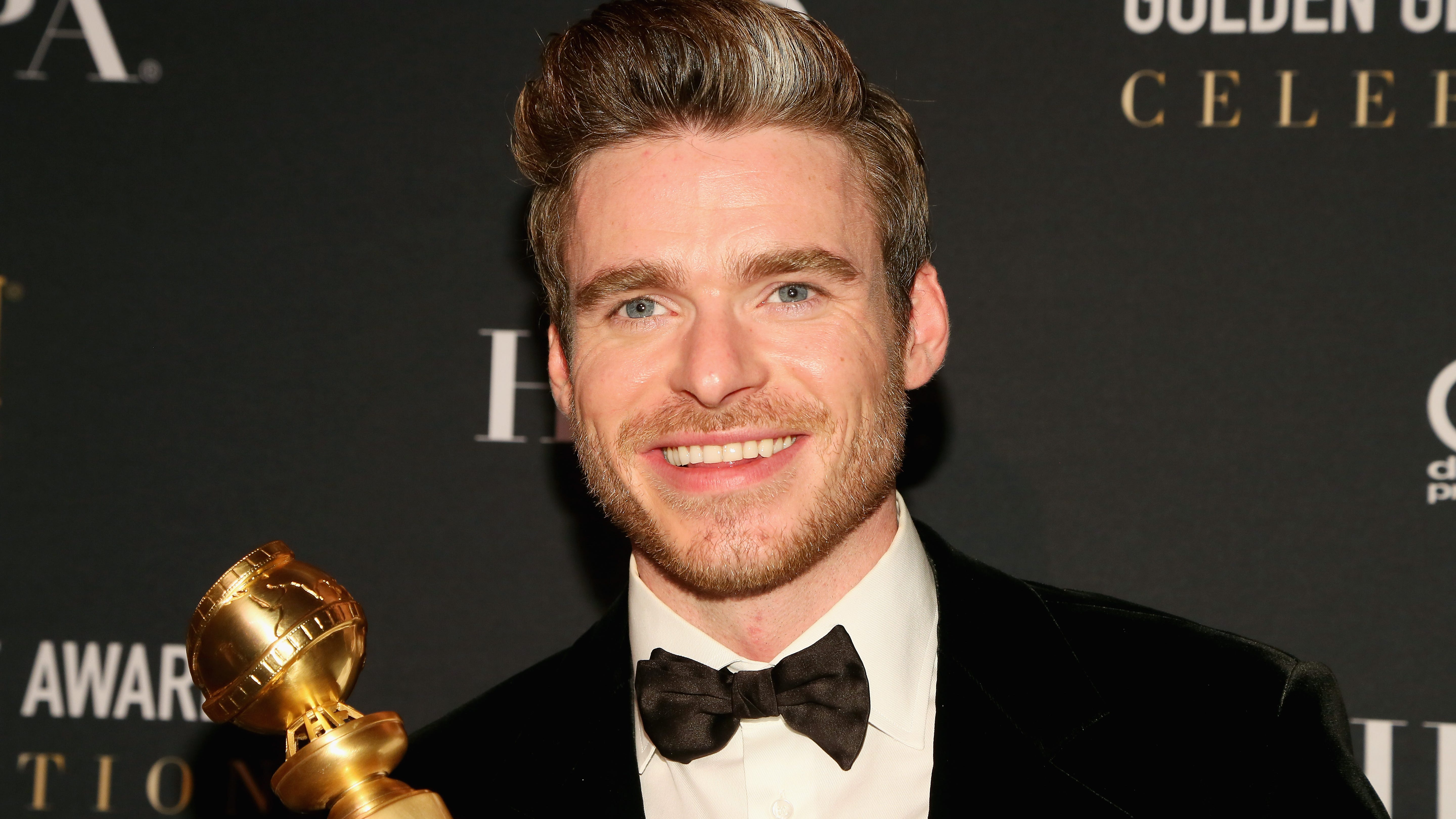 'Bodyguard' star Richard Madden thanks dad for saving him from awkward moment at Golden Globes