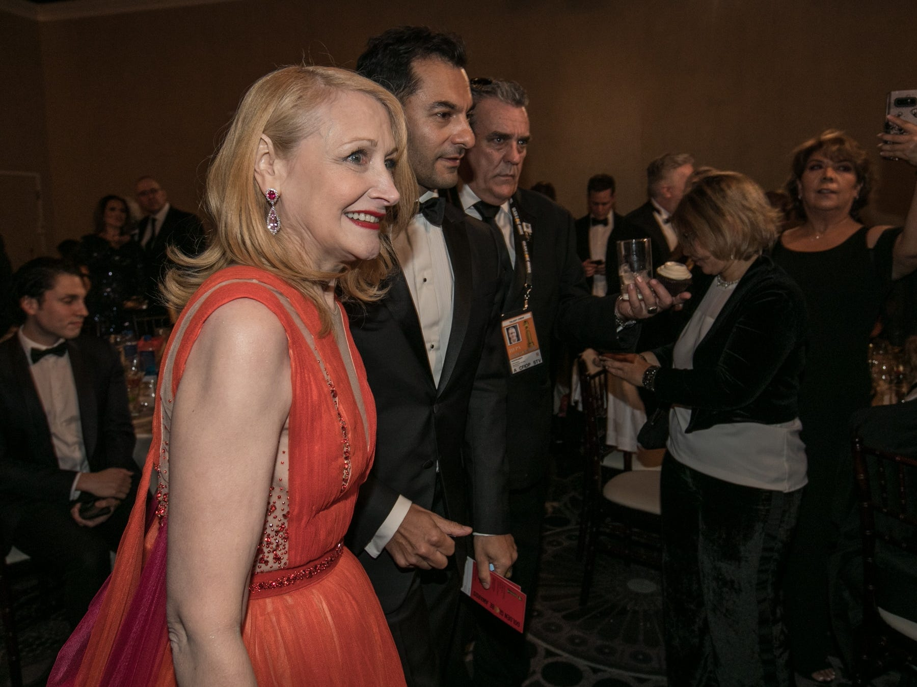 "Patricia Clarkson picked up best supporting actress in a miniseries for HBO's ""Sharp Objects."""