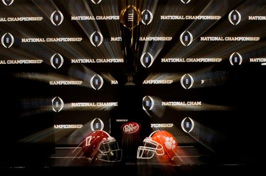 Ap Cfp National Championship Clemson Alabama Football S Fbc Usa Ca