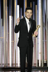 "Rami Malek won best actor for his role as Freddie Mercury, right before ""Bohemian Rhapsody"" took best drama at the Golden Globes."