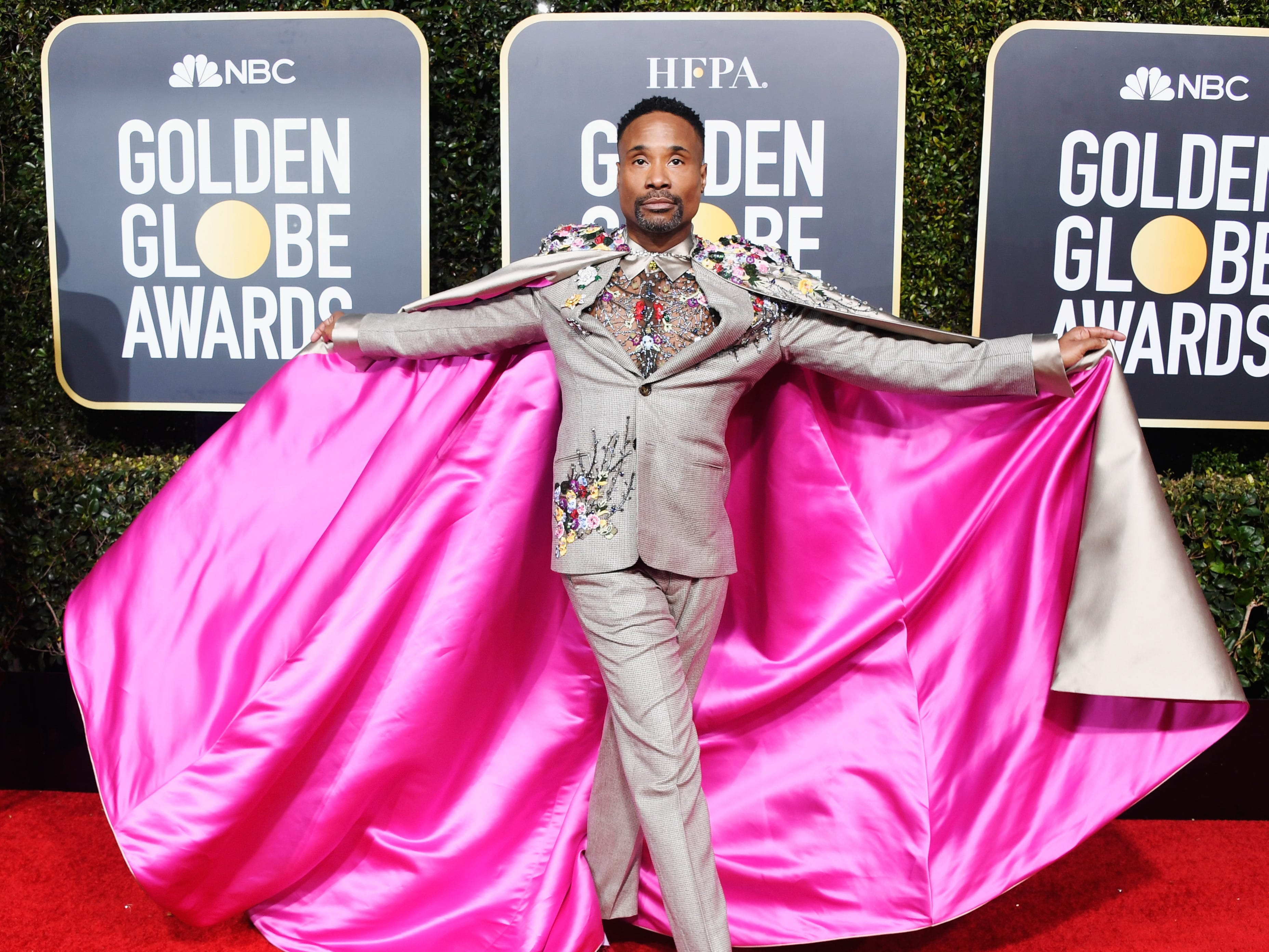 BEVERLY HILLS, CA - JANUARY 06:  Billy Porter attends the 76th Annual Golden Globe Awards at The Beverly Hilton Hotel on January 6, 2019 in Beverly Hills, California.  (Photo by Frazer Harrison/Getty Images) ORG XMIT: 775277757 ORIG FILE ID: 1078647500