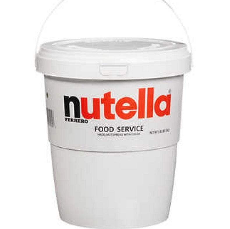 Nutella is selling a huge tub of Nutella for $22.