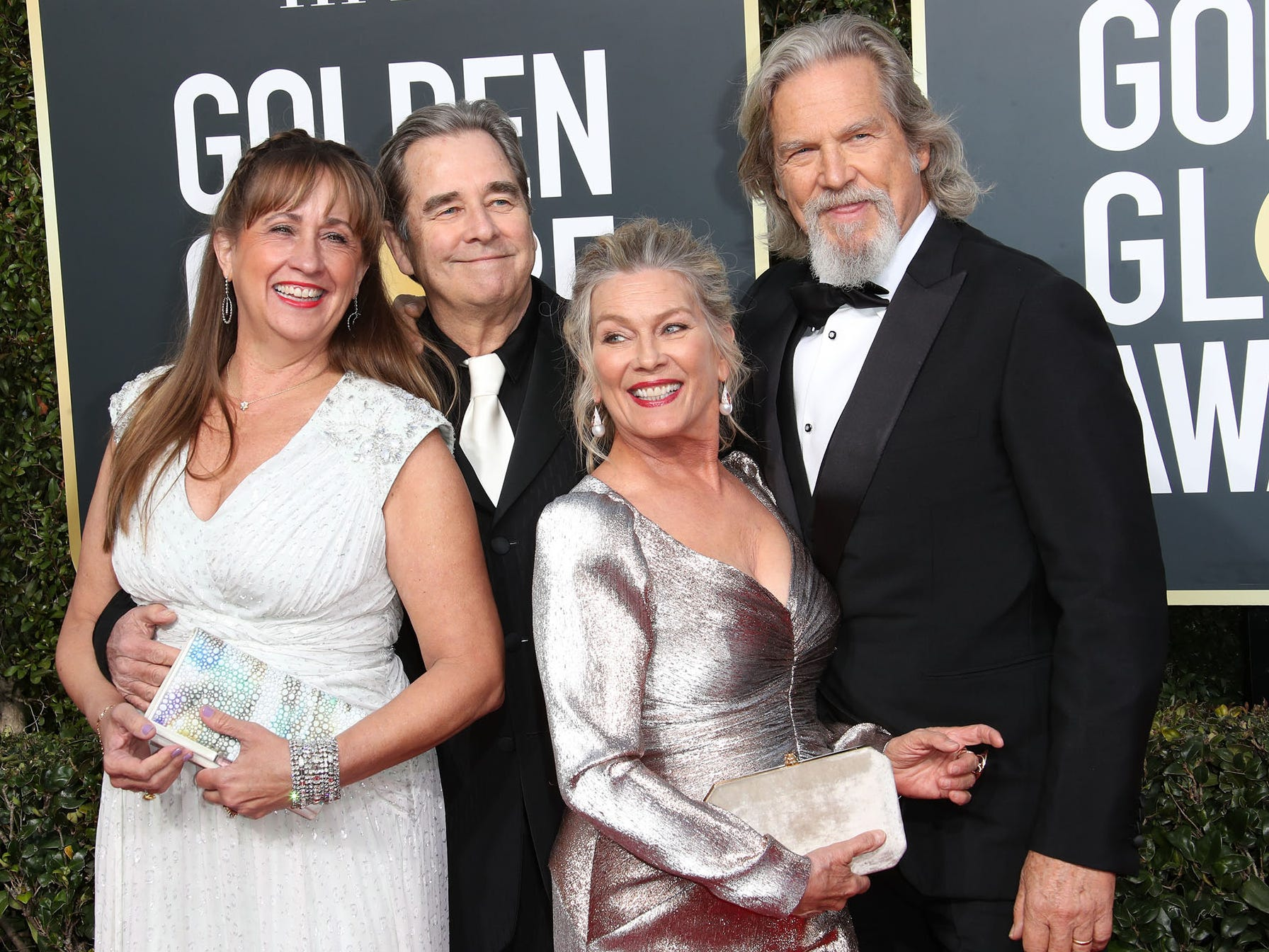 Wendy Treece Bridges, left, Beau Bridges, Susan Geston and Jeff Bridges