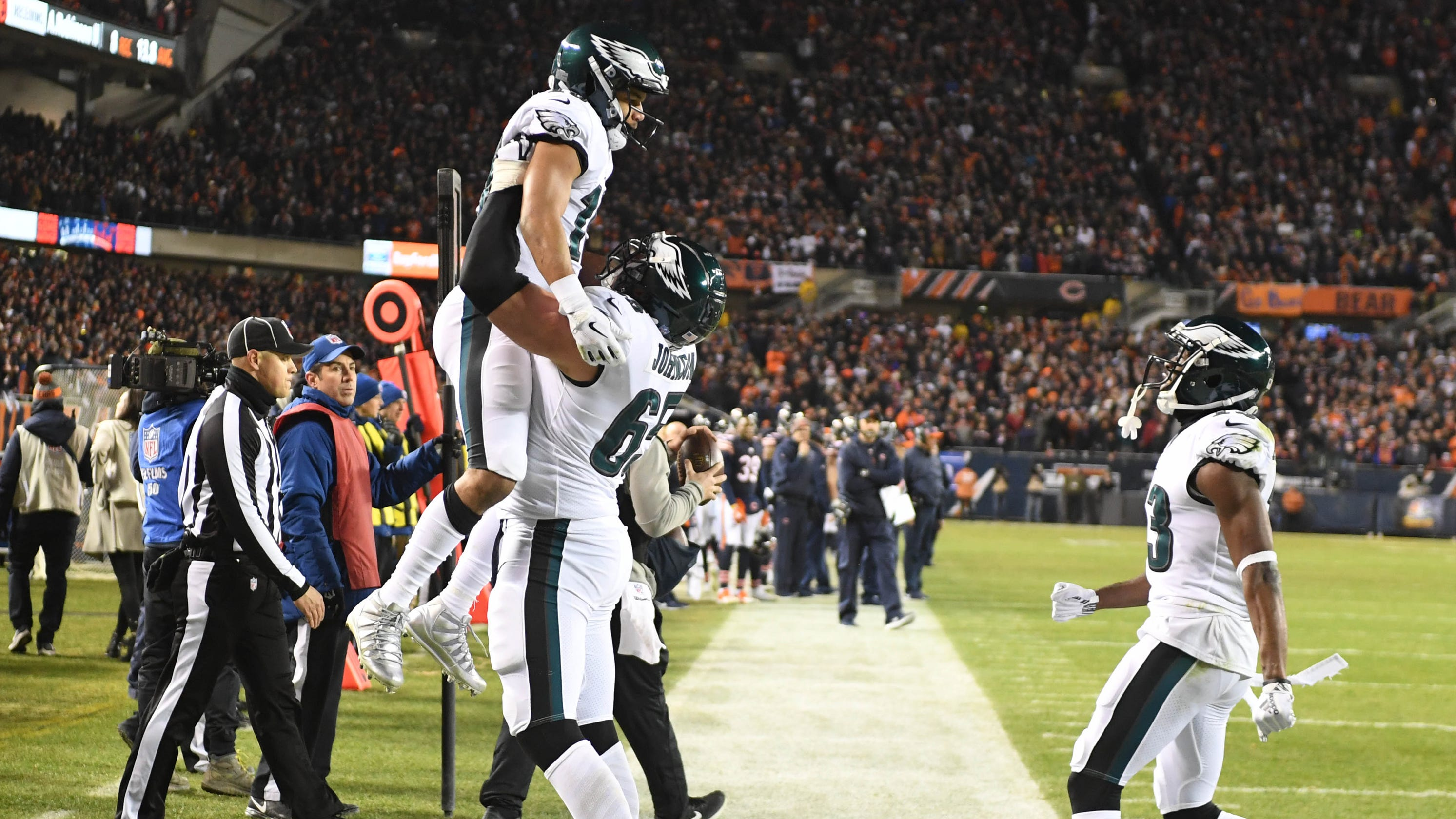 fa18e54f595 NFL playoffs: Don't bet against Philadelphia Eagles and their magic