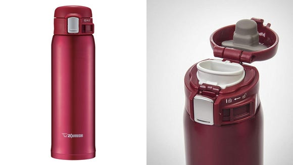 Pick up this stunning travel mug for its lowest price.
