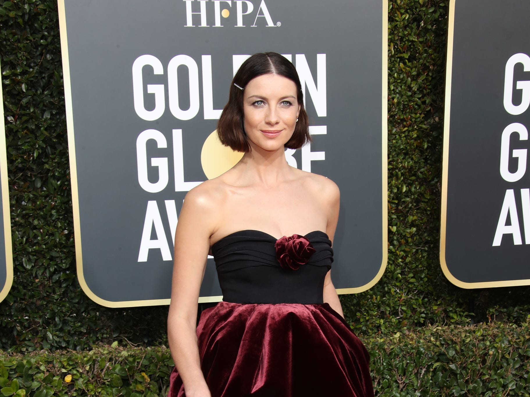Caitriona Balfe front view.