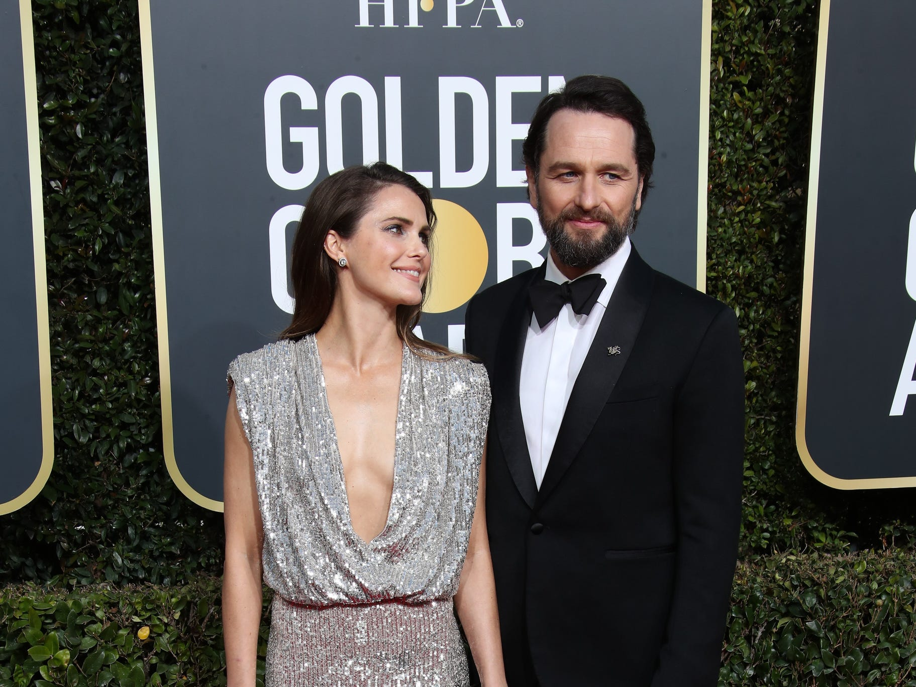 Keri Russell, left and Matthew Rhys