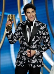 Darren Criss, winner of Best Actor - Limited Series or Picture Made for Television.