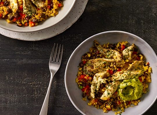 This cauliflower rice and chicken meal will be your new go-to dinner.