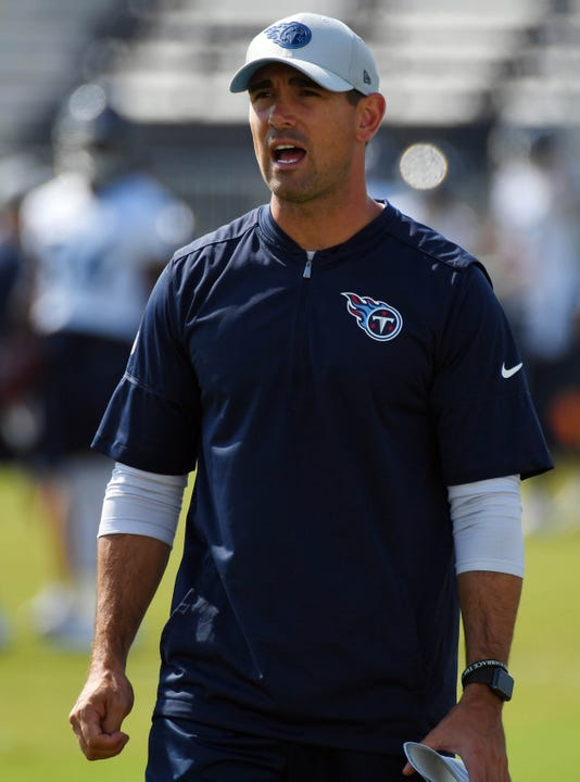 Nfl Tennessee Titans Training Camp