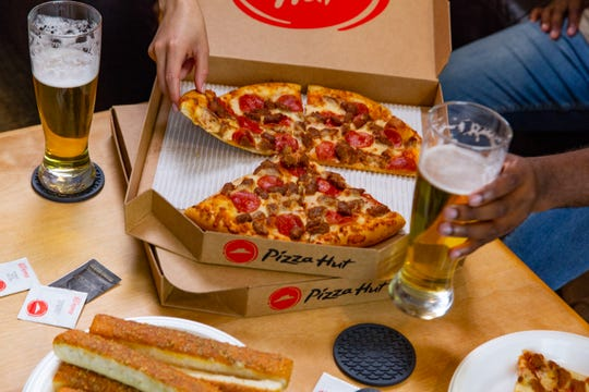 Pizza Hut now delivers beer, but be prepared to show ID. Delivery drivers will check to ensure no underage purchases are made.