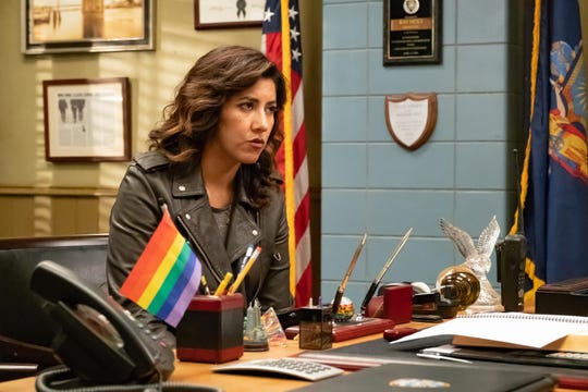 Stephanie Beatriz, who plays Rosa Diaz on NBC's 'Brooklyn Nine-Nine,' directs an episode this season that deals with #MeToo matters.