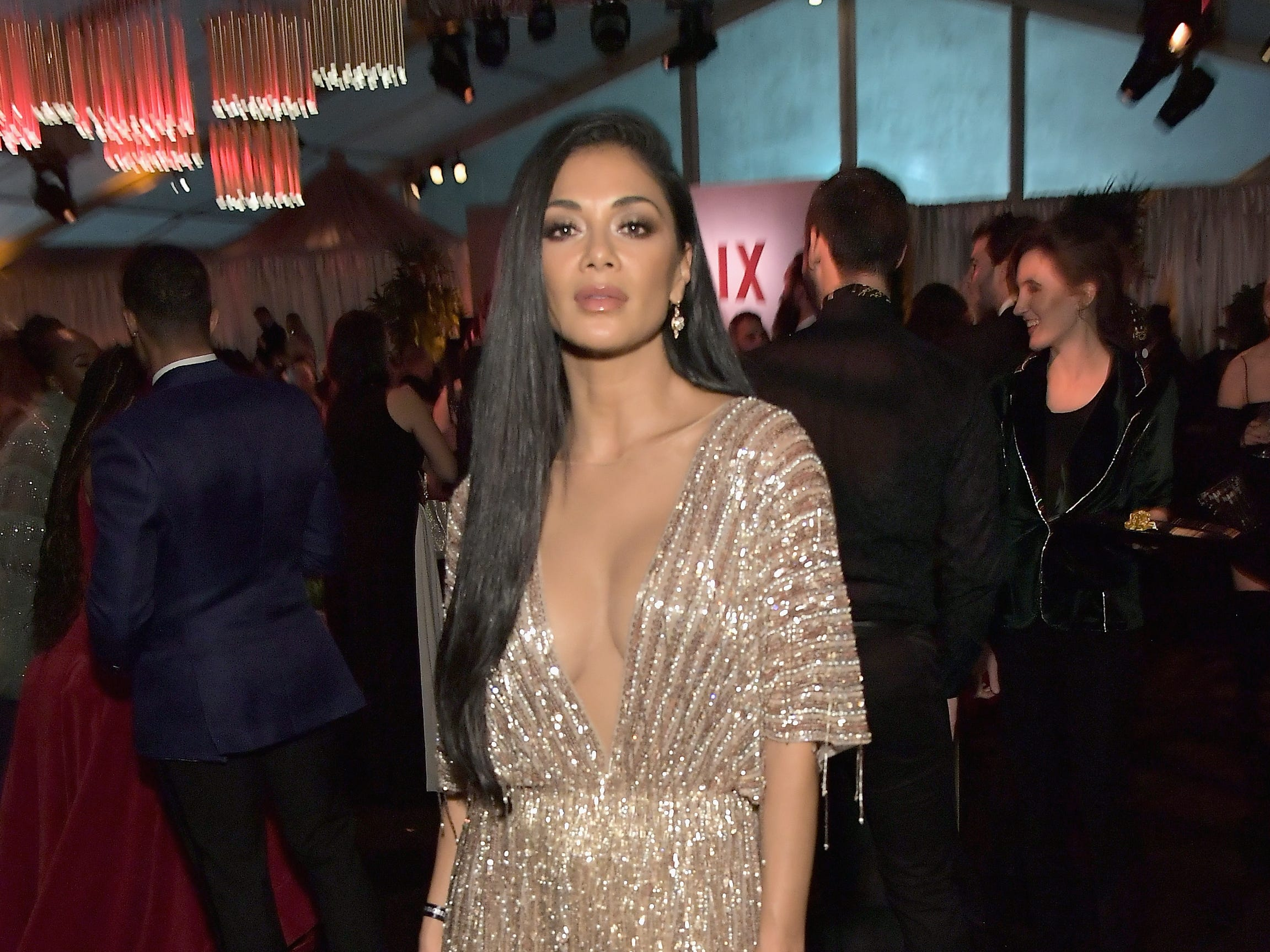 LOS ANGELES, CA - JANUARY 06:  Nicole Scherzinger attends the Netflix 2019 Golden Globes After Party on January 6, 2019 in Los Angeles, California.  (Photo by Charley Gallay/Getty Images for Netflix) ORG XMIT: 775263107 ORIG FILE ID: 1078656156