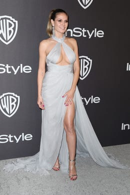 BEVERLY HILLS, CA - JANUARY 06:  Heidi Klum attends the InStyle And Warner Bros. Golden Globes After Party 2019 at The Beverly Hilton Hotel on January 6, 2019 in Beverly Hills, California.  (Photo by Rich Fury/Getty Images) ORG XMIT: 775268365 ORIG FILE ID: 1078641168