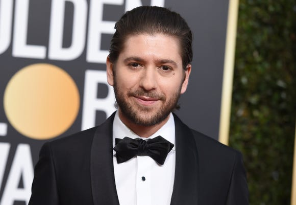 """Michael Zegen, who plays Joel Maisel on """"The Marvelous Mrs. Maisel"""" is still getting used to fame."""