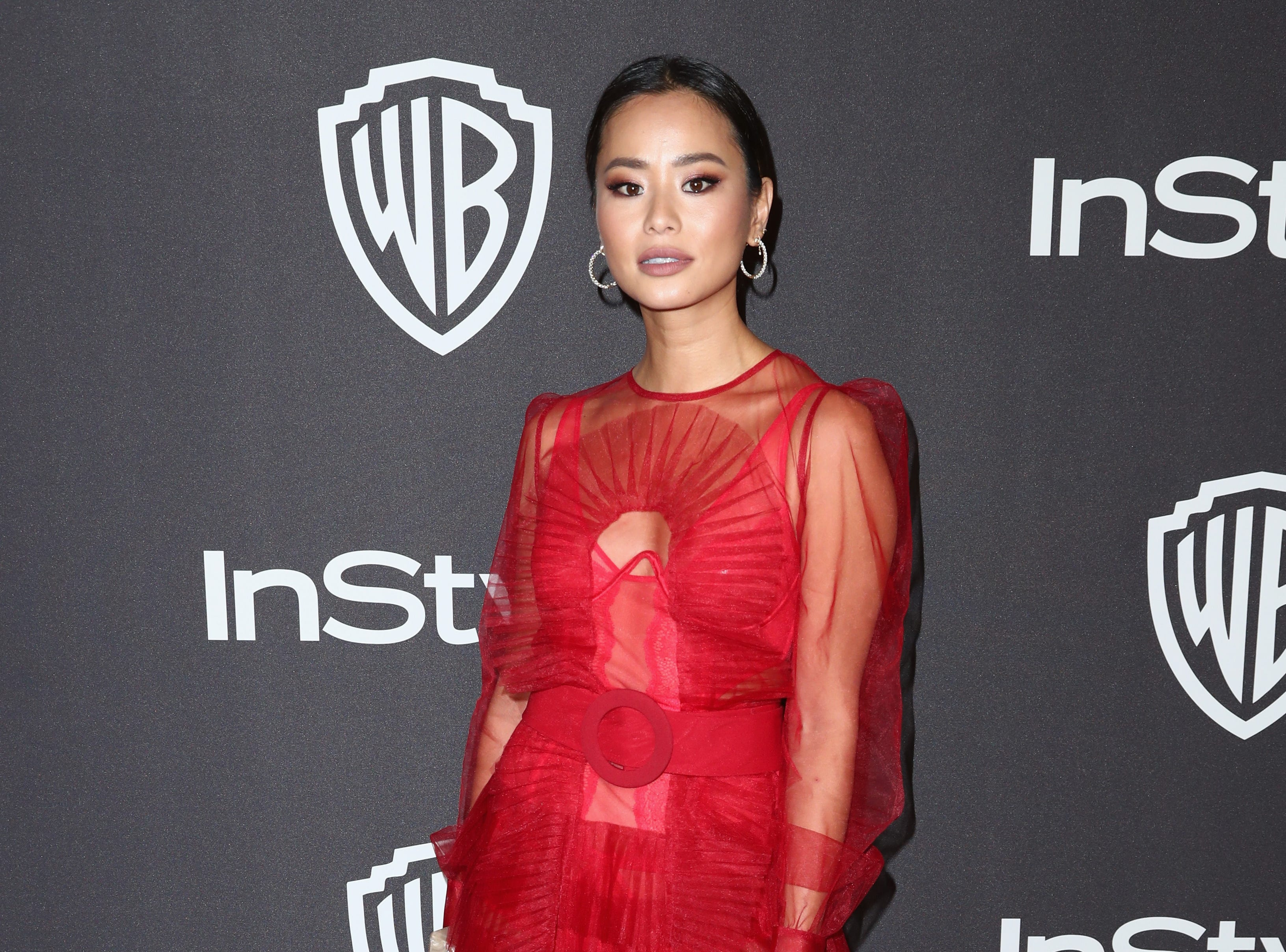 BEVERLY HILLS, CA - JANUARY 06:  Jamie Chung attends the InStyle And Warner Bros. Golden Globes After Party 2019 at The Beverly Hilton Hotel on January 6, 2019 in Beverly Hills, California.  (Photo by Rich Fury/Getty Images) ORG XMIT: 775268365 ORIG FILE ID: 1078498678