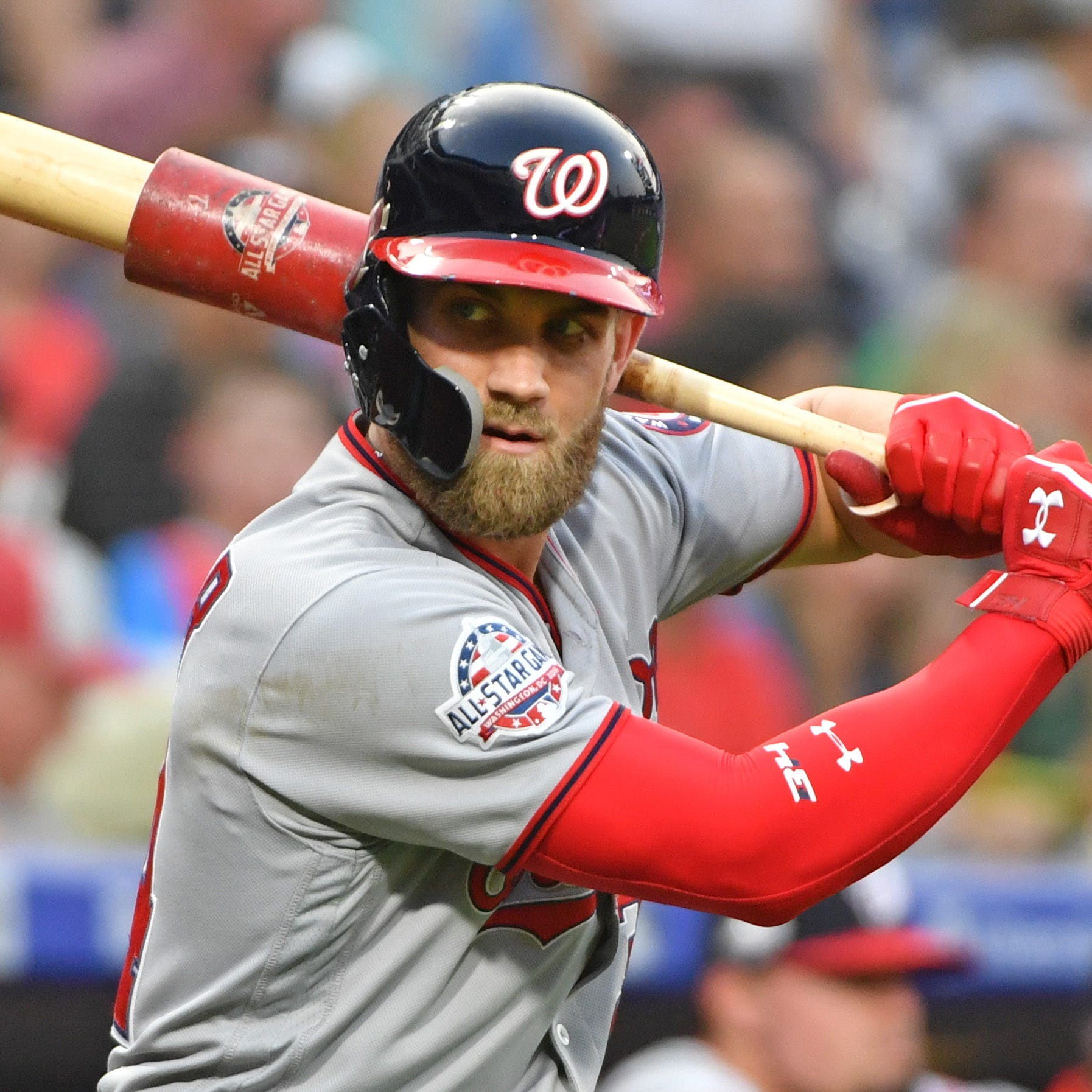 Free agent Bryce Harper set for meeting with Phillies