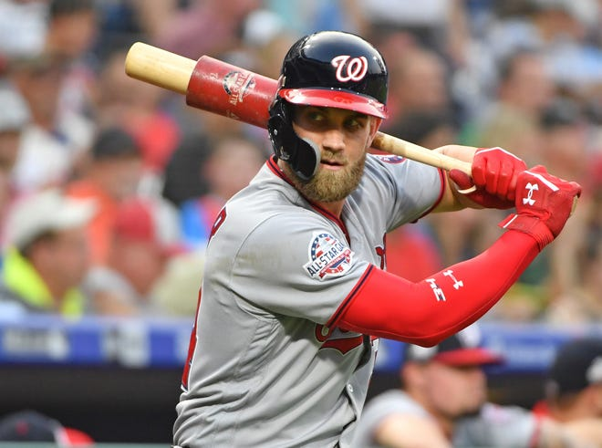 Harper has been an All-Star six times in seven seasons.