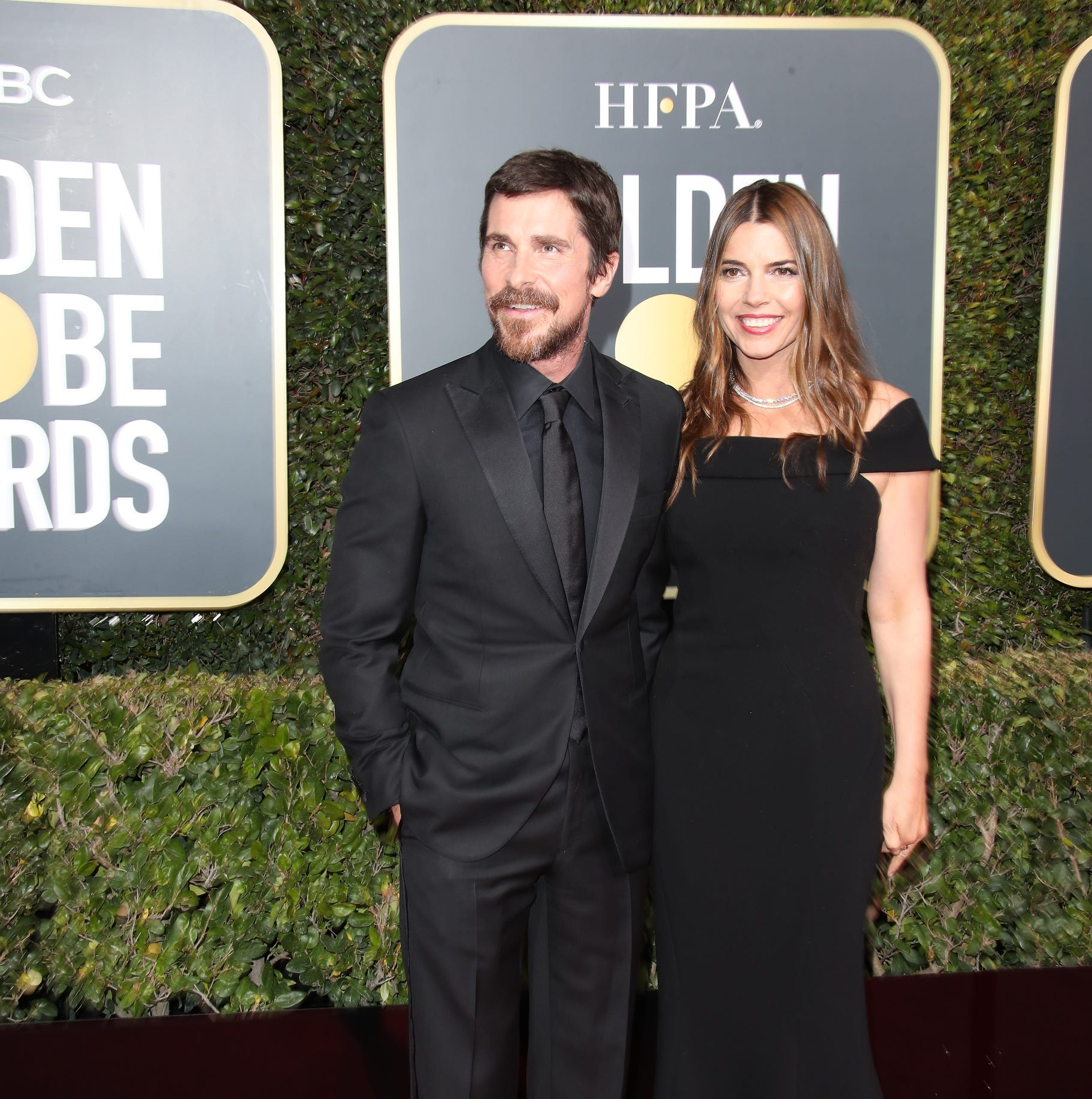 Christian Bale uses Golden Globes speech to call McConnell a naughty word