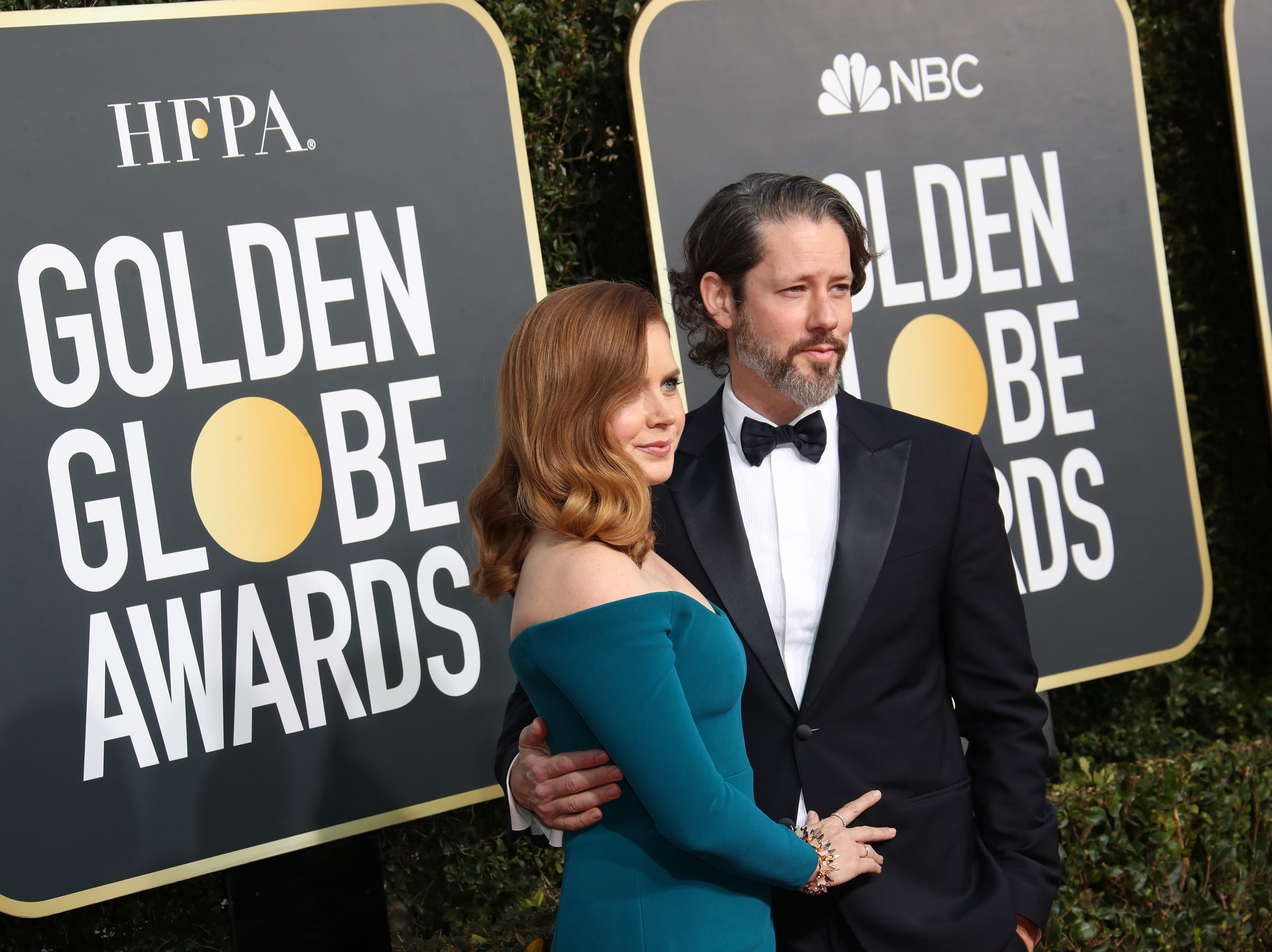 Amy Adams and hubby Darren Le Gallo