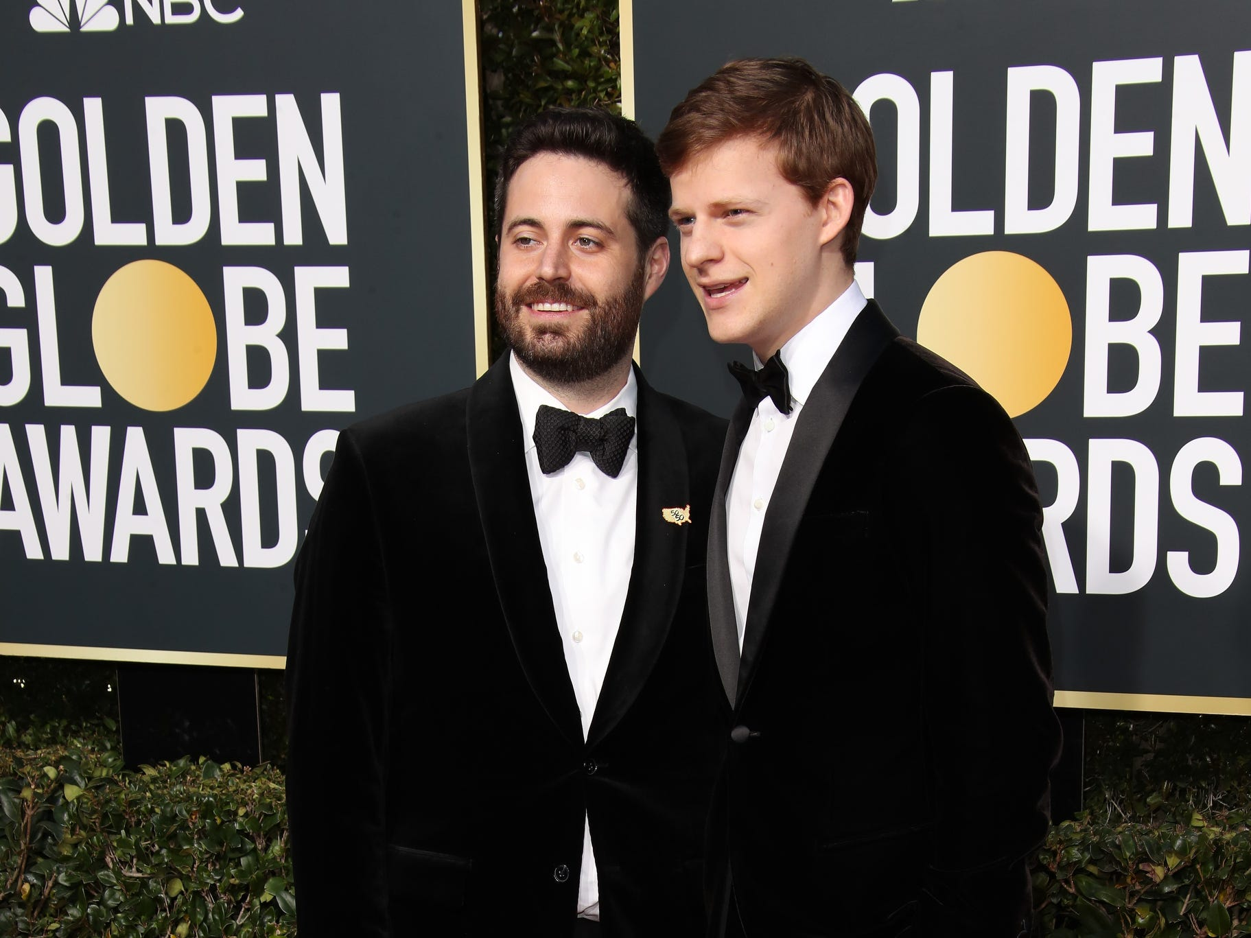 Garrard Conley, left and Lucas Hedges