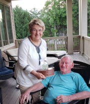 C. Dale Martin, pictured here with his wife, Carol, died Jan. 5 at 80.