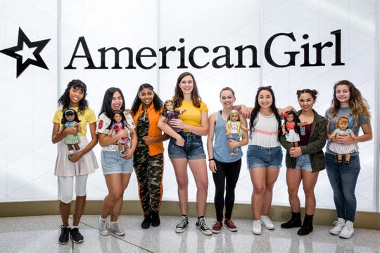"""American Girl Live"" is a new stage musical set at a summer camp, where  much-loved dolls come to life to inspire their girls with stories from history."