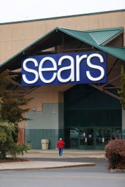The Sears store at the Freehold Raceway Mall is shown Tuesday, January 8, 2019.