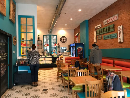 Chroma Cafe & Bakery is located in Downtown Binghamton.