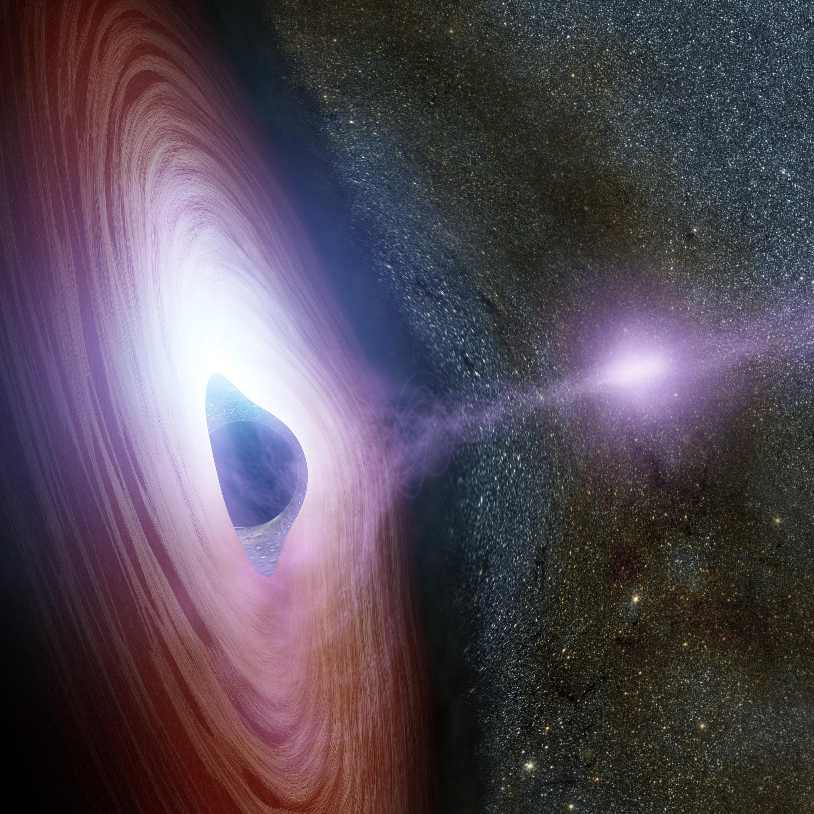 Astronomers might have finally seen a star become a black hole